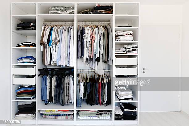 wardrobe - neat stock pictures, royalty-free photos & images