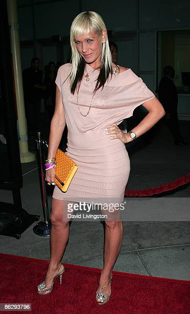 Wardrobe stylist April Roomet attends a screening of Summit Entertainment's 'Next Day Air' at ArcLight Cinemas on April 29 2009 in Hollywood...