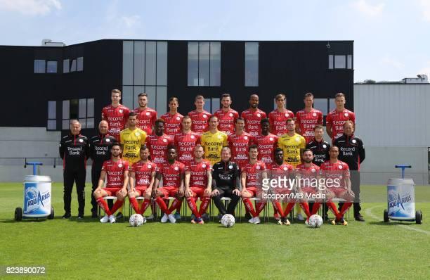 20170707 Waregem Belgium / Photoshoot Zulte Waregem 2017 2018 / 'n'nBack row Pieter DE SMET Yoan SEVERIN Ben REICHERT Sander COOPMAN Michael HEYLEN...