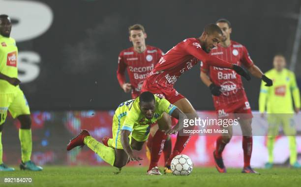 20171203 Waregem Belgium / Zulte Waregem v Kaa Gent / 'nAnderson ESITI Marvin BAUDRY'nFootball Jupiler Pro League 2017 2018 Matchday 17 / 'nPicture...