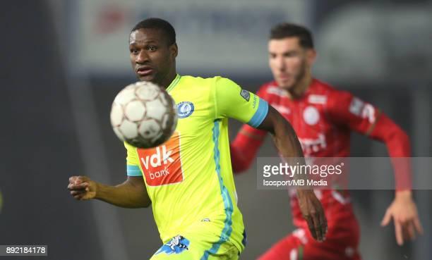 20171203 Waregem Belgium / Zulte Waregem v Kaa Gent / 'nMamadou SYLLA'nFootball Jupiler Pro League 2017 2018 Matchday 17 / 'nPicture by Vincent Van...