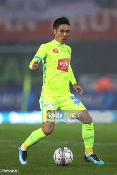 20171203 Waregem Belgium / Zulte Waregem v Kaa Gent / 'nYuya KUBO'nFootball Jupiler Pro League 2017 2018 Matchday 17 / 'nPicture by Vincent Van...
