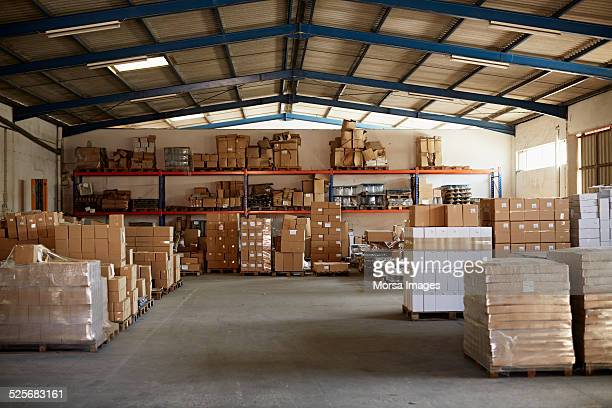 warehouse at glass factory - warehouse stock pictures, royalty-free photos & images