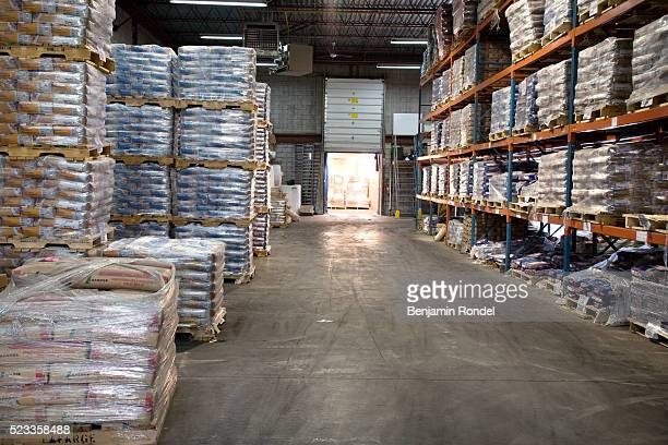 warehouse full of building materials - construction material stock pictures, royalty-free photos & images