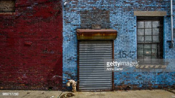 a warehouse in brooklyn, new york. - ニューヨーク州 ブルックリン ストックフォトと画像