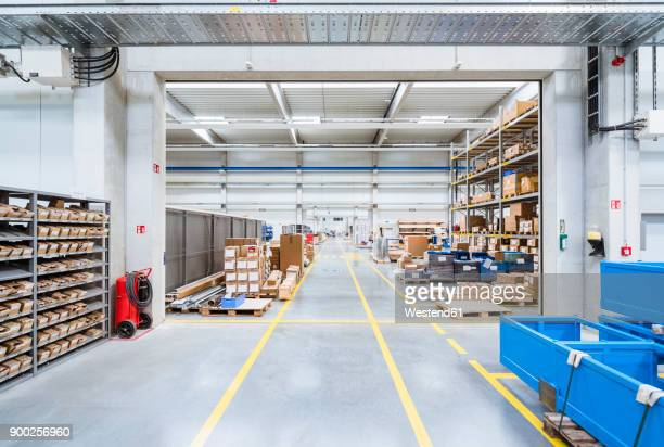Warehouse in factory