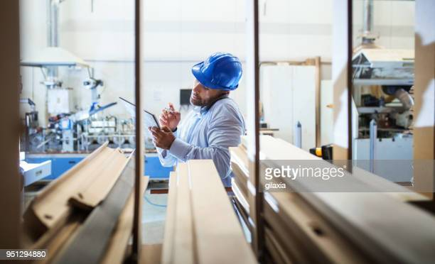 warehouse inspection. - work helmet stock pictures, royalty-free photos & images