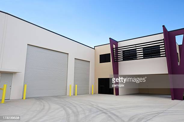 Warehouse & Office Building Exterior