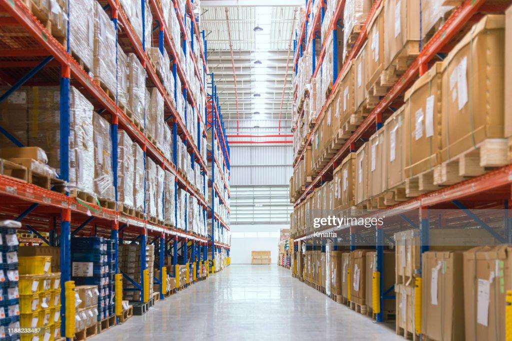 Warehouse : Stock-Foto