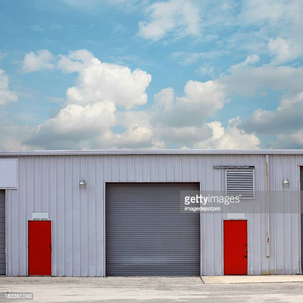 warehouse - industrial door stock pictures, royalty-free photos & images