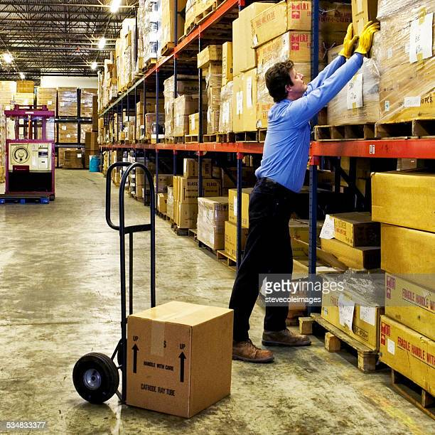 warehouse - sack barrow stock pictures, royalty-free photos & images