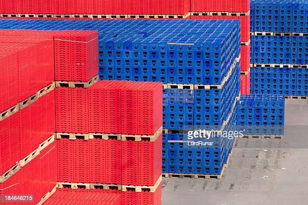 Warehouse stockpile