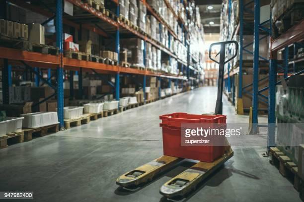 Travailleur entrepôt de