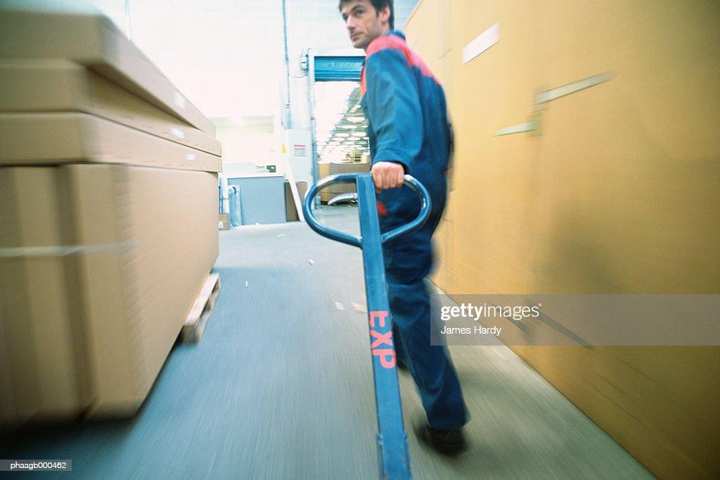 Warehouse worker : Foto de stock