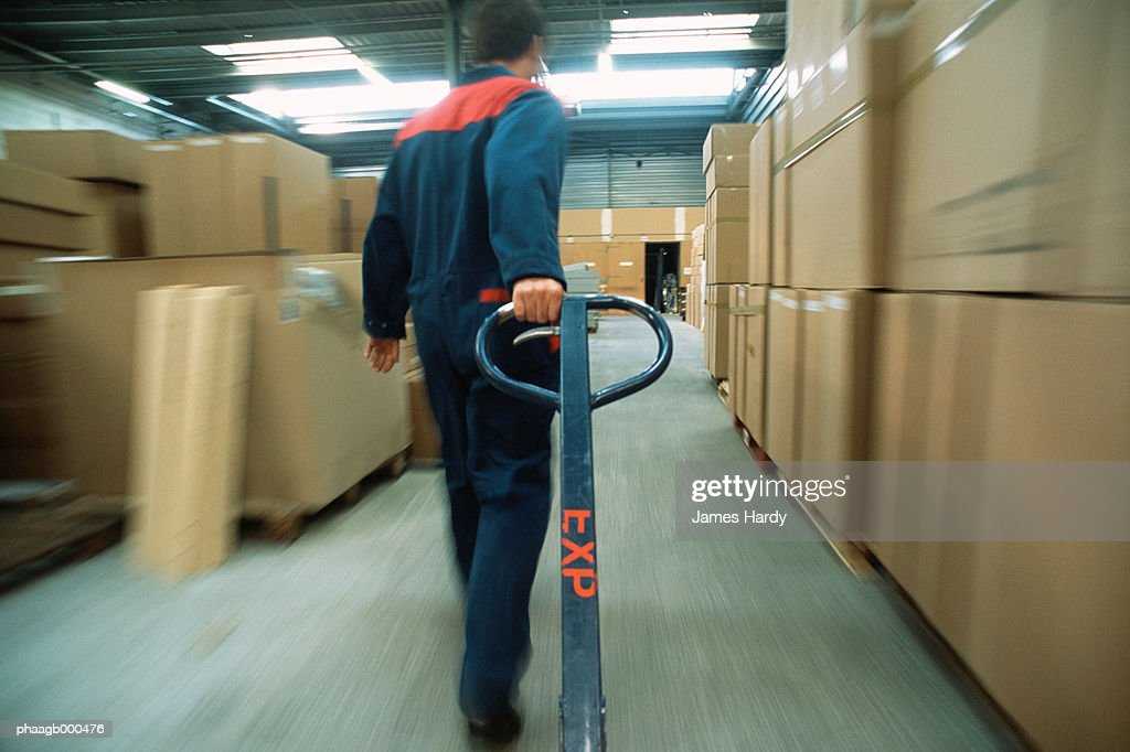 Warehouse worker : Stockfoto