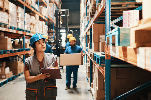 Warehouse Workers 1180702558