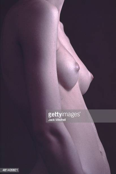 Warhol Superstar model and actress Jane Forth photographed nude in New York City in 1970