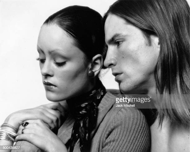 Warhol Superstars Jane Forth and Joe Dallesandro photographed as they appeared in 'Trash' in 1970