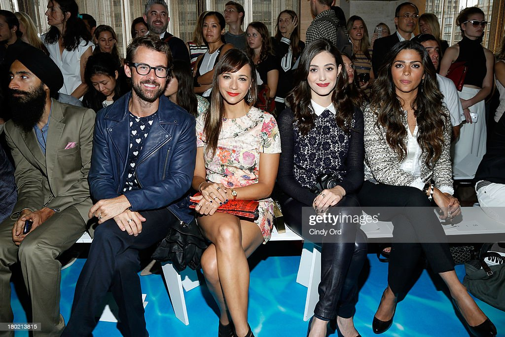 Tory Burch - Front Row - Mercedes-Benz Fashion Week Spring 2014 : News Photo