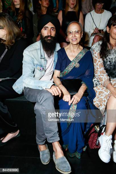 Waris Ahluwalia during the Bibhu Mohapatra fashion show with Narayan Jewellers in association with ForeverMark Diamonds at Skylight Clarkson Sq on...