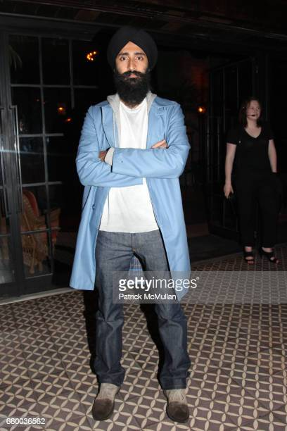 Waris Ahuwalia attends House of Lavande Hosts the Nest Foundation Gala at Bowery Hotel on May 1 2009 in New York City