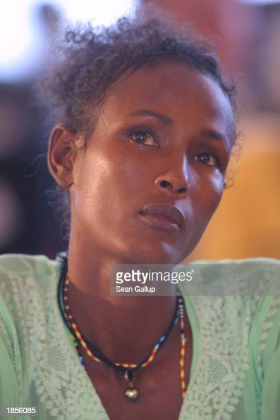 Waris Dirie Somalianborn former supermodel and current Special Ambassador for the Eliminatiuon of Female Genital Mutilation for the United Nations...