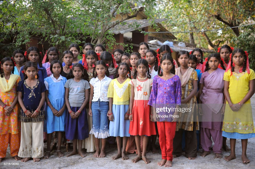 Warli tribal girls maharashtra india stock photo getty images warli tribal girls maharashtra india altavistaventures Image collections
