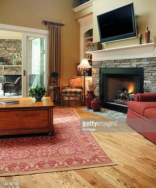 Warm Family Room