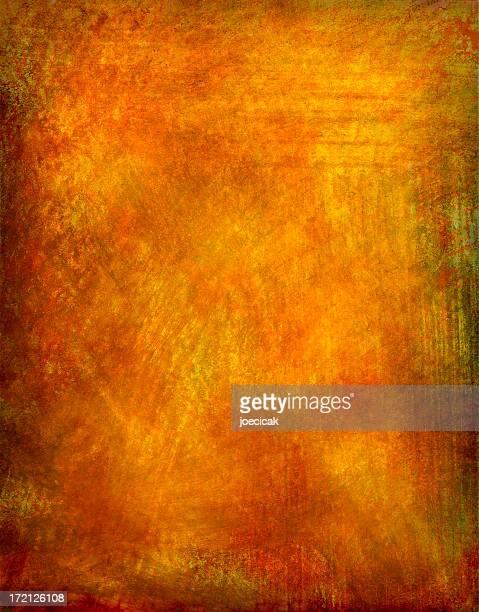 Fond peint chaleureux