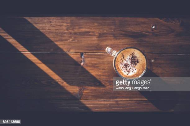 Warm Sunshine With Coffee