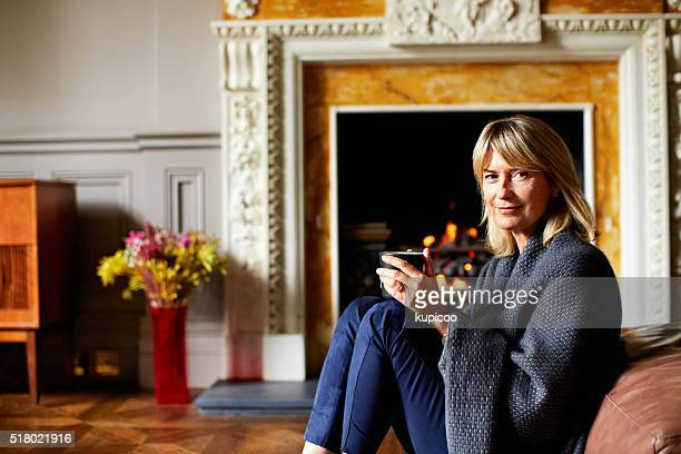 warming up on a autumn morning - hot older women stock pictures, royalty-free photos & images