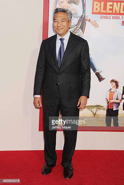 Warner Bros Entertainment Kevin Tsujihara arrives at the Los Angeles premiere of 'Blended' at TCL Chinese Theatre on May 21 2014 in Hollywood...