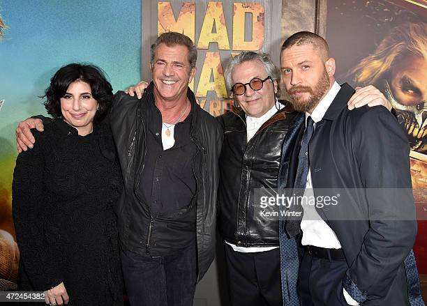 Warner Bros. Pictures Worldwide Marketing and International Distribution President Sue Kroll, actor Mel Gibson, Writer/Director/Producer George...