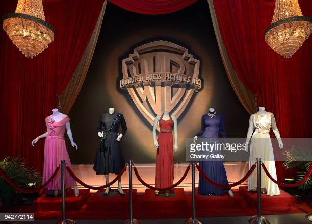 Warner Bros Studio Tour Hollywood Launches Brand New Classics Tour and Exhibit with Carole Cook Leonard Maltin at Warner Bros Studios on April 4 2018...
