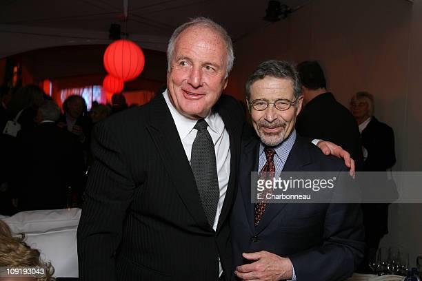 Warner Bros's Barry Meyer and Producer Jerry Weintraub