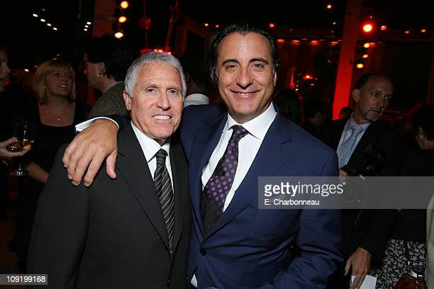 Warner Bros's Dan Fellman and Andy Garcia during Warner Bros Pictures Village Roadshow Pictures Jerry Weintraub and Section 8 Productions Host the...