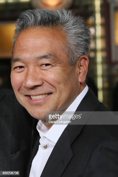 Warner Brothers CEO Kevin Tsujihara attends the premiere of Warner Bros Pictures' 'Fist Fight' at Regency Village Theatre on February 13 2017 in...