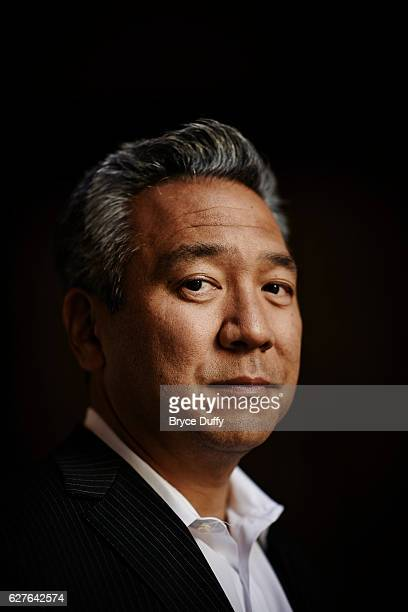 Warner Brothers CEO Kevin Tsujihara is photographed for Variety Magazine on March 12 2013 in Los Angeles California