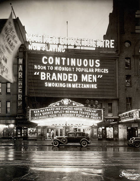 Warner Brothers Theatre Marquee