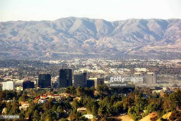 warner center in san fernando valley los angeles california - valley stock pictures, royalty-free photos & images