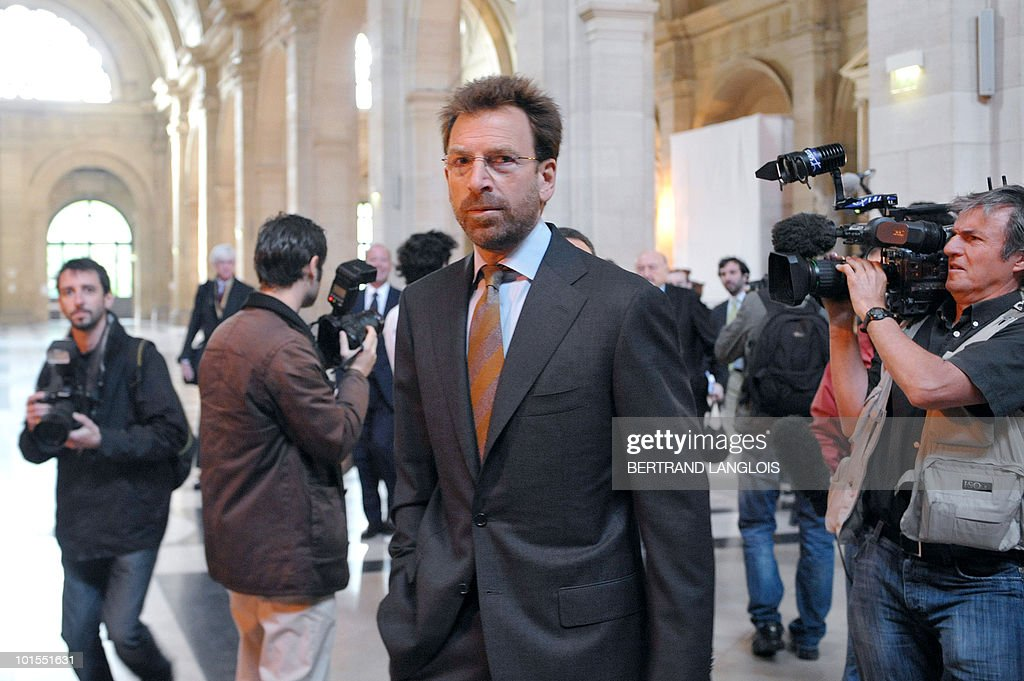 Warner Music Group Corporation Chief Executive Officer Edgar Bronfman Jr arrives at a Paris courthouse on June 2, 2010 in Paris, for the trial of seven former Vivendi SA executives. Universal ex-Chief Executive Officer Jean-Marie Messier faces charges of market manipulation, distributing false information and misuse of corporate funds, while Bronfman, who joined Vivendi as vice chairman when it acquired Seagram Co. in 2000, is accused of insider trading. The trial runs until June 25.