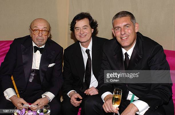 Warner Music Group salutes industry icon Ahmet Ertegun founding chairman of Atlantic Records and Led Zeppelin's lifetime achievement award with Jimmy...