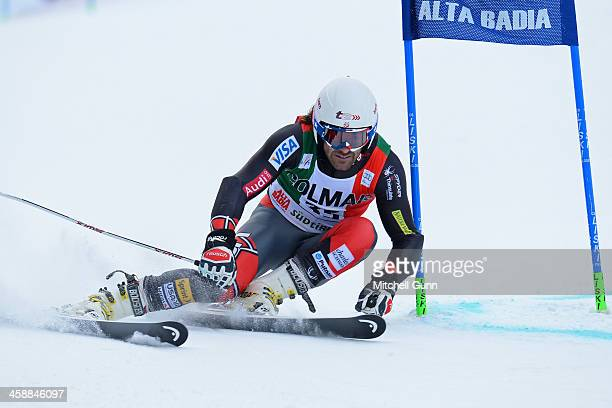Warner Nickerson of The USA races down the course whilst competing in the FIS Alpine World Cup giant Slalom race on December 22 2013 in Alta Badia...