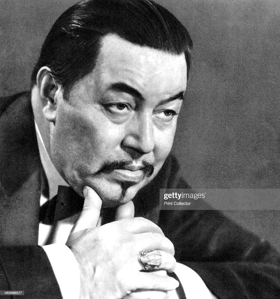 Warner Oland, Swedish actor, 1934-1935. : News Photo