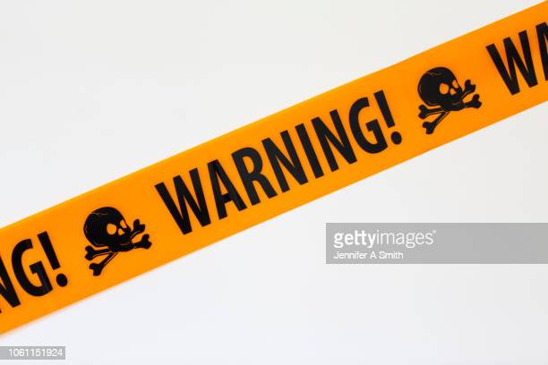 warning! - toxin stock pictures, royalty-free photos & images