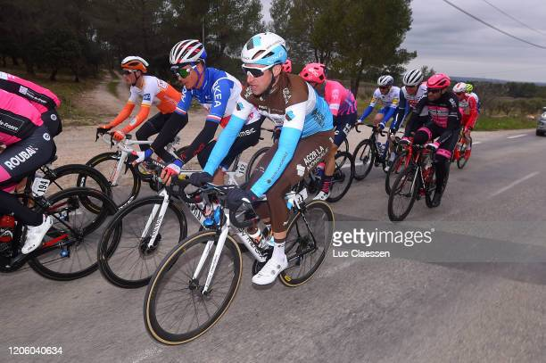 Warren Barguil of France and Team Arkéa Samsic / Alexandre Geniez of France and Team Ag2R La Mondiale / during the 5th Tour de La Provence 2020 Stage...