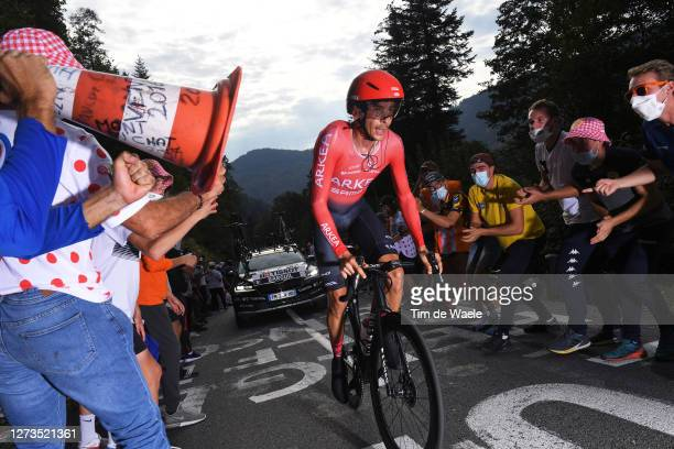 Warren Barguil of France and Team Arkea - Samsic / Public / Fans / during the 107th Tour de France 2020, Stage 20 a 36,2km Individual Time Trial...