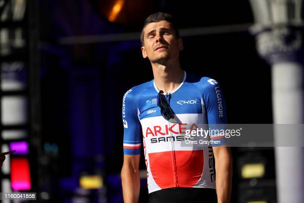 Warren Barguil of France and Team Arkea-Samsic / during the 106th Tour de France 2019 - Team Presentation / Brussels Grand Départ 2019 / Grand Place...