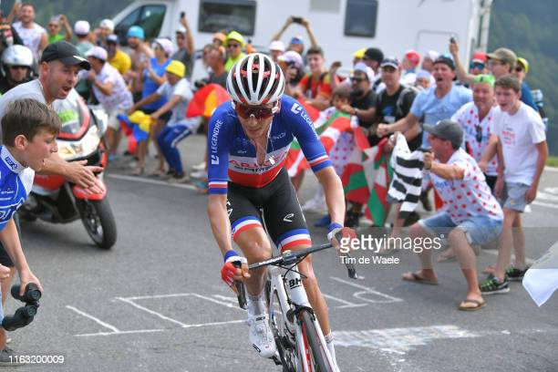 Warren Barguil of France and Team Arkea-Samsic / Fans / Public / during the 106th Tour de France 2019, Stage 14 a 117km stage from Tarbes to...