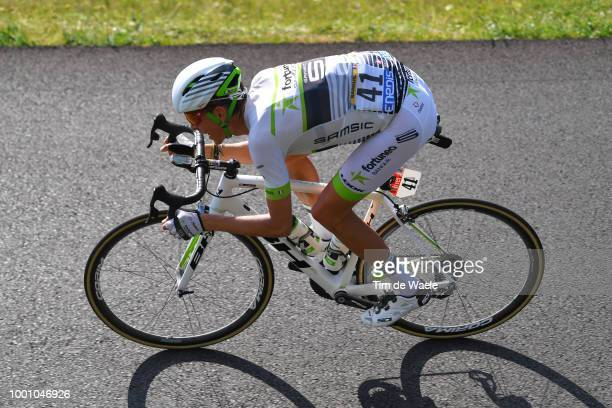Warren Barguil of France and Team Fortuneo Samsic / during the 105th Tour de France 2018 / Stage 10 a 1585km stage from Annecy to Le GrandBornand...